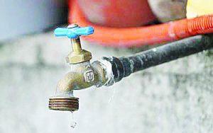 Supenderán el servicio de agua por 19º ocasión