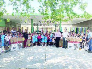 Donativos de IP rescatan escuela