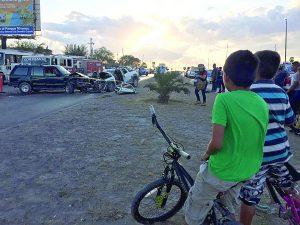 'Se pasa de copas'; mata a conductor