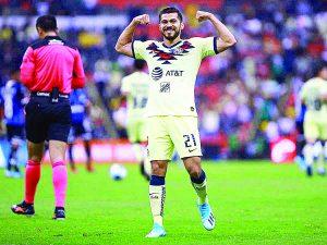 Alegra a Henry Martín reencuentro con el gol