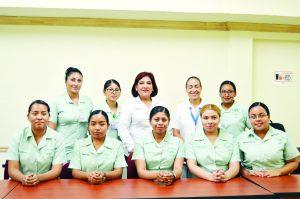 Van de intercambio 9 alumnas de enfermería