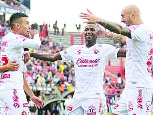 Xolos ladró fuerte frente al Atlético San Luis
