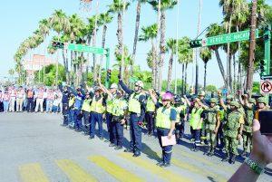 Rinden honores a víctimas de sismo