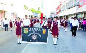 Alistan desfile de Independencia