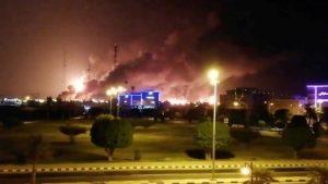 Drones explosivos atentaron contra dos refinerías petroleras en Arabia