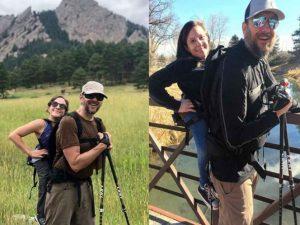 Él no ve, ella no camina, pero juntos escalan montañas