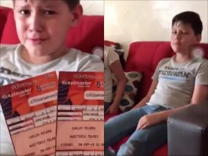 VIDEO: Niño rompe en llanto... ¡por que verá a Carlos Rivera!