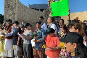 Se manifiestan en Mérida Premios Nobel por medio ambiente