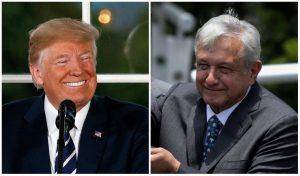 Donald Trump dice que AMLO es fantástico y destaca cooperación con México
