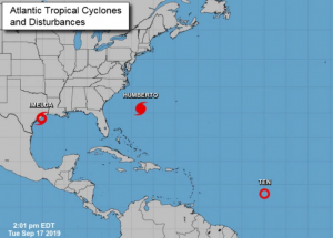 La tormenta tropical Imelda amenaza al sur de Texas