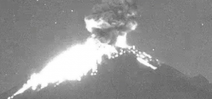 Popocatépetl emitió 219 exhalaciones en las últimas 24 horas