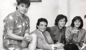 Resurge foto de José José junto a Camilo Sesto, Juan Gabriel y Rocío Durcal