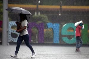 Prevén lluvias intensas en cuatro estados por depresión tropical 'Narda