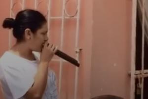 VIDEO: Mujer amenaza a sus vecinos para que no arruinen su fiesta mexicana