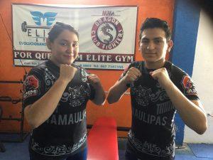 Bruce y Melissa Díaz logran medalla de oro en competencia Nacional de Artes Marciales Mixtas