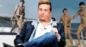 Captan muy extraño a Daniel Bisogno en playa nudista