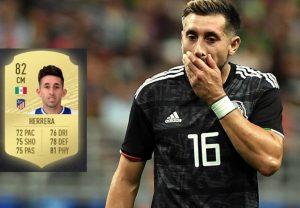 FIFA 20 se olvida de actualizar imagen de Héctor Herrera