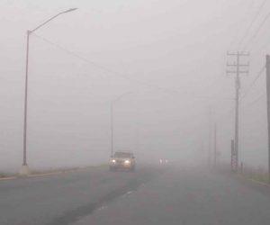 Densa niebla invade a Reynosa y Río Bravo