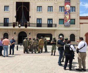 Amenaza de bomba; desalojan la presidencia de Matamoros