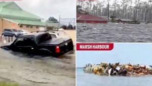 Dorian deja 5 muertos en Bahamas y se acerca a Florida