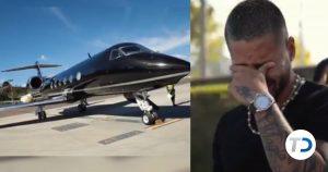 Maluma rompe en llanto al comprar su primer avión privado (VIDEO)