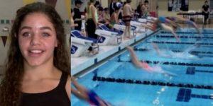 Descalifican a nadadora por 'enseñar de más'