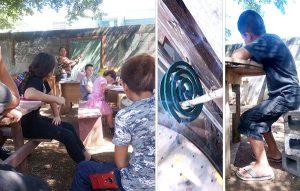 Escuelas los rechazan por no pagar cuota 'voluntaria', pero siguen aprendiendo