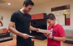 VIDEO: ¡Qué sorpresa! Emanuel conoció a Carlos Rivera