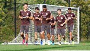 La Selección Mexicana ya entrena en Nueva Jersey