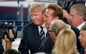 Trump está enamorado de mí: Arnold Schwarzenegger