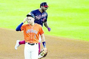 Washington derrota por cuarta ocasión en Houston a los Astros y gana su primera Serie Mundial