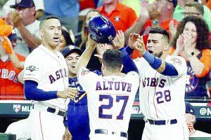 Astros se deshacen de los Rays y van por Yanquis en la serie de campeonato de la liga Americana