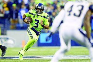 Aplaca Wilson a  Rams en Seattle