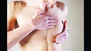 También hay cáncer de mama en hombres