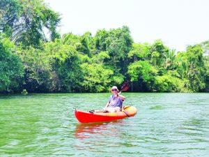 Realizan hoy carrera de kayaks en el río Bravo