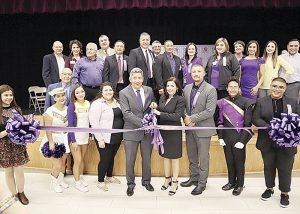 Celebran apertura de escuela de noveno grado en UISD