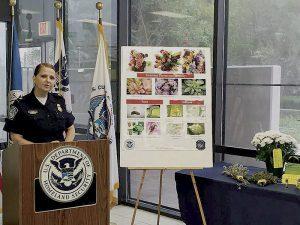 Recuerda CBP no cruzar con flores ni vegetación
