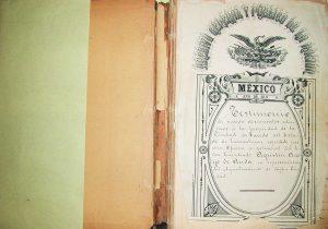 Rescatan el libro del Archivo   General de la Nación de 1893