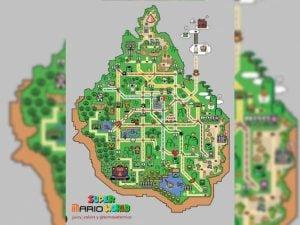 Se inspira en 'Super Mario World' para crear mapa del Metro