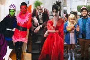 Disfraces para parejas que te harán triunfar en Halloween