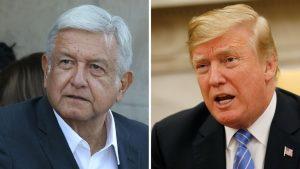 Donald Trump se solidariza con AMLO por lo de Culiacán