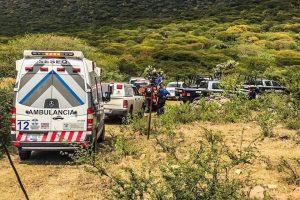 Mueren 2 en desplome de aeronave en Querétaro