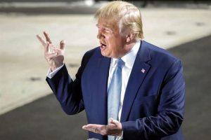 Reduce Trump personal tras filtración