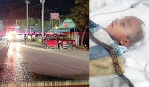 Muere mujer, y niño recibe dos balazos en la cabeza