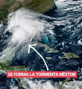 Alerta en el Golfo de México por la llegada de la tormenta tropical Néstor