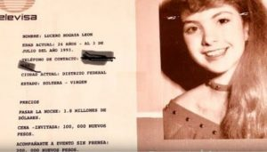 Soltera y virgen: así vendía Televisa a Lucerito en catálogo