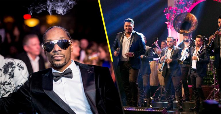 Snoop Dogg alista colaboración con Banda MS, el rapero lo aseguró