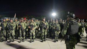 Arriban a Culiacán 230 elementos de Fuerzas Especiales  para contrarrestar violencia