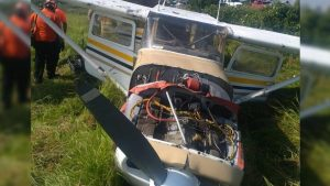 Avioneta se desploma en Nuevo León