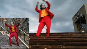 Joven se viraliza por bailar como 'El Joker' en la Macroplaza